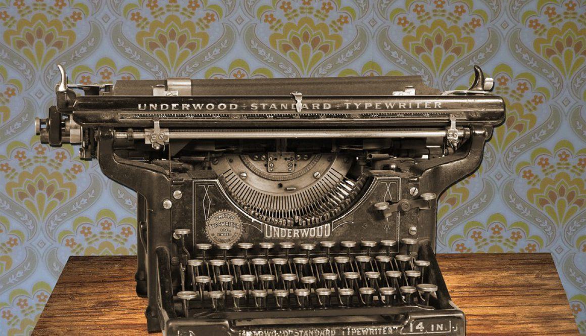 typewriter-875310_960_720